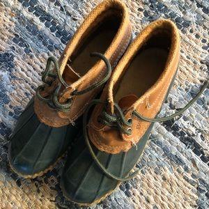 Vintage duck boots